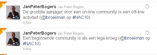tweets #NAC10
